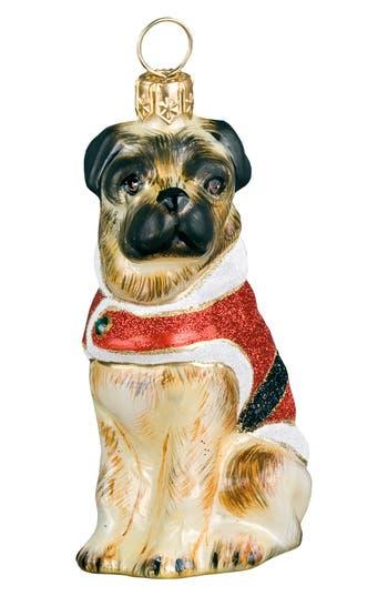 Joy To The World Collectibles 'Santa Paws Diva Pug' Ornament