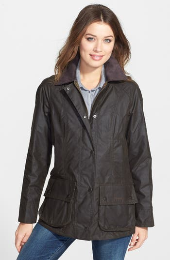 Women's Barbour Beadnell Waxed Cotton Jacket