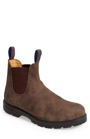 Blundstone Footwear Waterproof Chelsea Boot, Brown