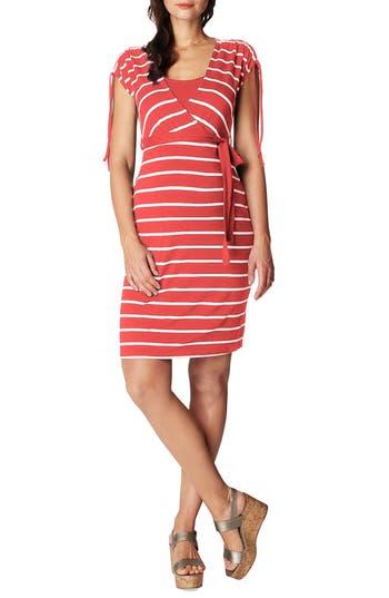 Noppies Lotta Nursing/maternity Dress, Coral