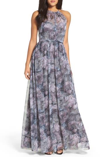 Amsale Tamara Gathered Gown