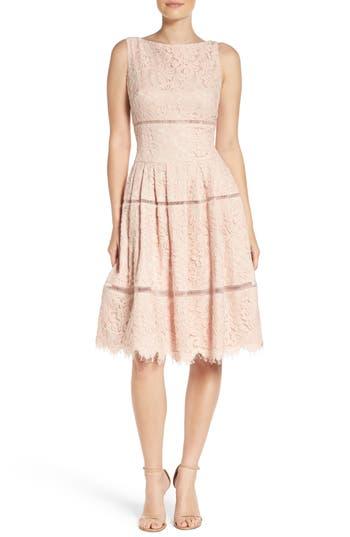 Eliza J Lace Inset Dress