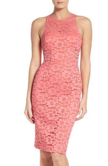 Trina Turk Philo Floral Lace Sheath Dress