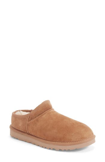 Ugg Classic Water Resistant Slipper (Women), Brown