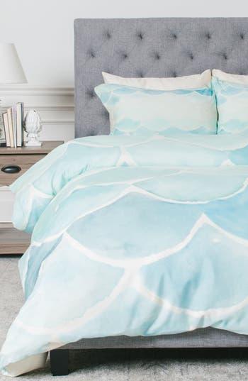 Deny Designs Mermaid Scales Duvet Cover & Sham Set