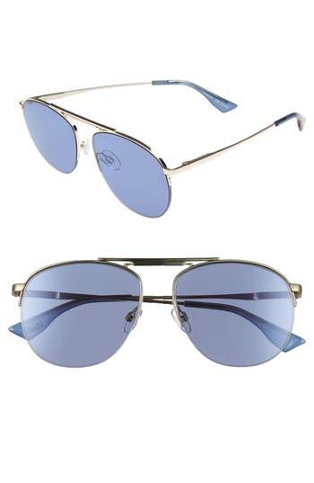 Le Specs Liberation 57Mm Aviator Sunglasses - Gold