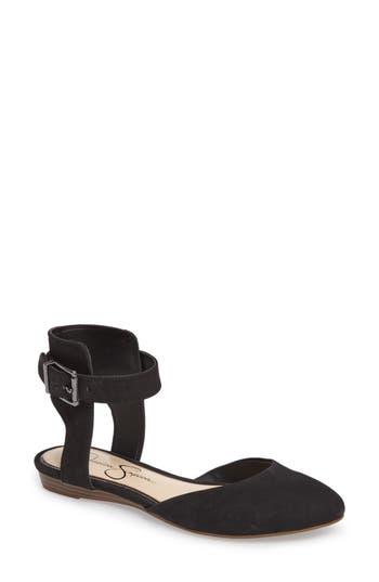 Jessica Simpson Loranda Ankle Strap Flat