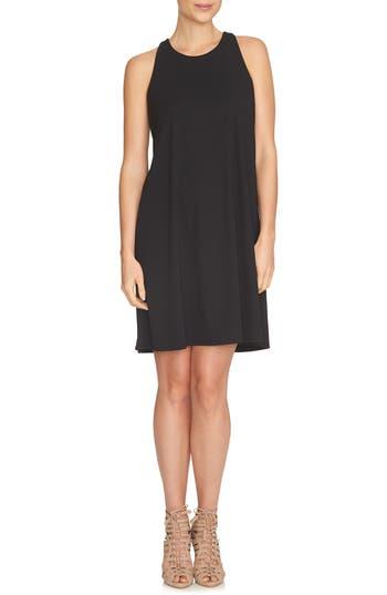 Cece Twist Back Knit Shift Dress