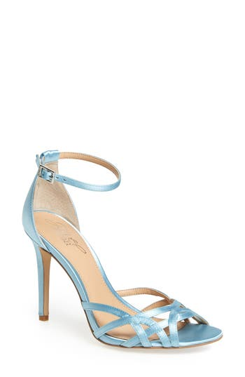 Jewel Badgley Mischka Haskell Ii Strappy Sandal, Blue