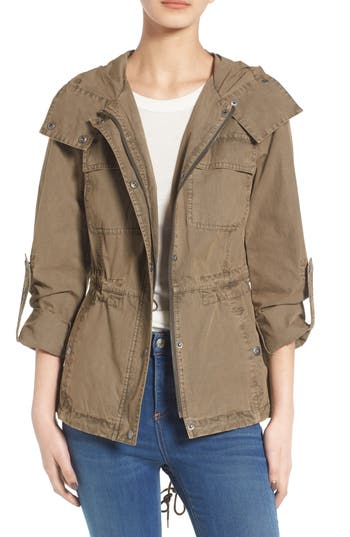 Women's Levi's Parachute Cotton Hooded Utility Jacket