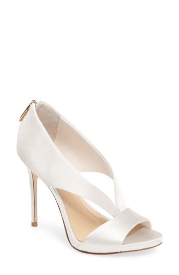 Imagine Vince Camuto Dailey Open Toe Pump, Ivory