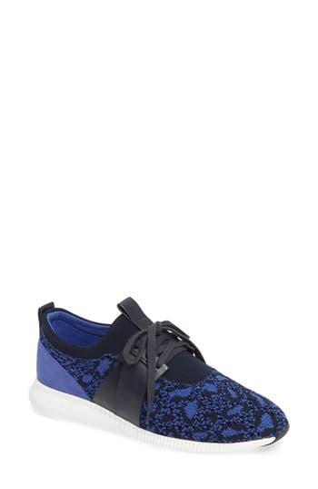 Cole Haan 2.0 Studiogrand Woven Sneaker, Blue