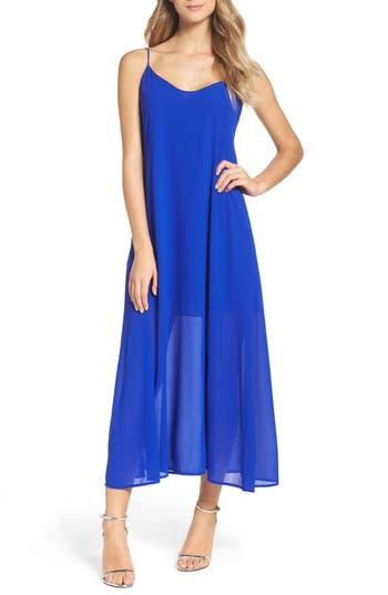 Mary & Mabel Maxi Dress, Blue