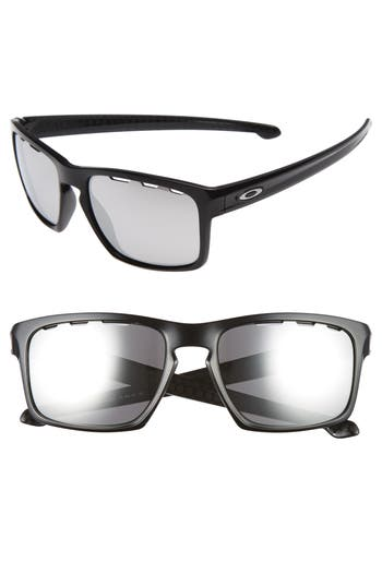 Oakley Sliver Chrome Iridium 57Mm Sunglasses -