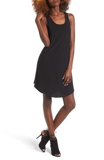 Leith Tank Dress, Black