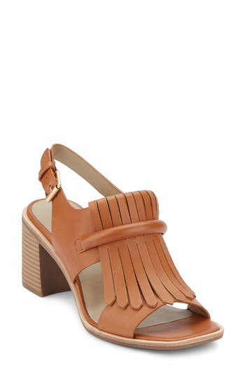G.h. Bass & Co. Reagan Kiltie Fringe Sandal- Brown