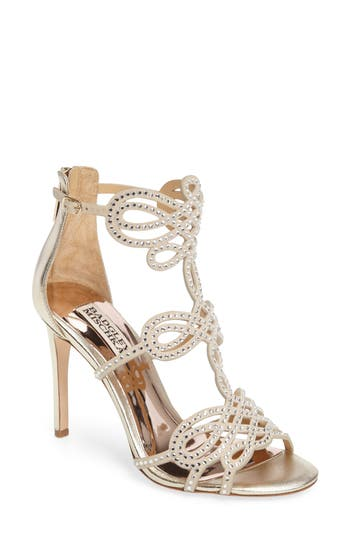 Badgley Mischka Teri Sandal- Metallic