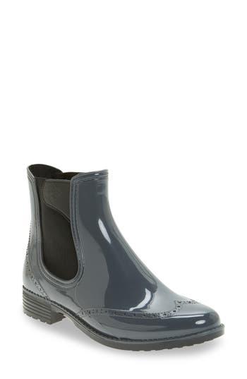 Dav Vienna Chelsea Rain Boot, Grey