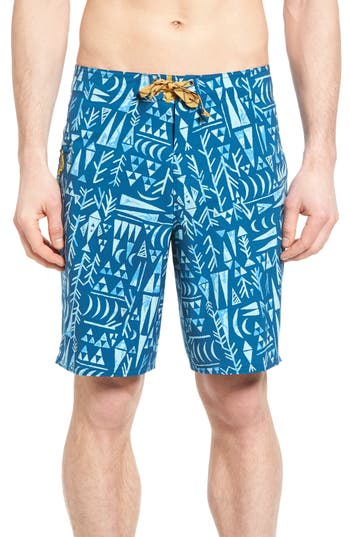 Patagonia Stretch Planing Board Shorts, Blue