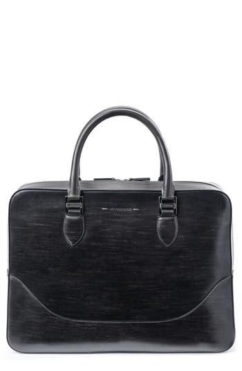 Magnanni Medium Leather Briefcase -