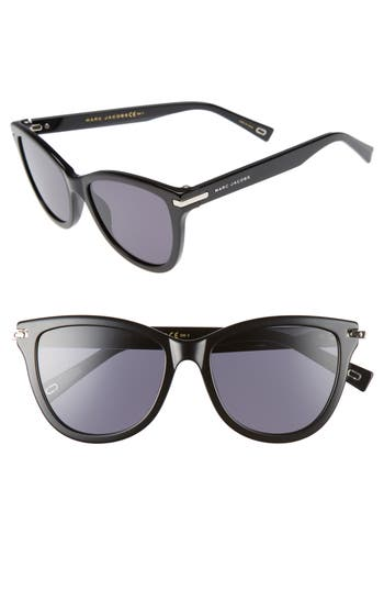 Women's Marc Jacobs 54Mm Sunglasses - Black