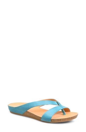Kork-Ease Devoe Sandal, Blue/green