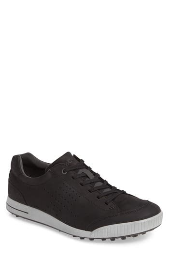 Ecco Street Retro Hm Golf Shoe - Black