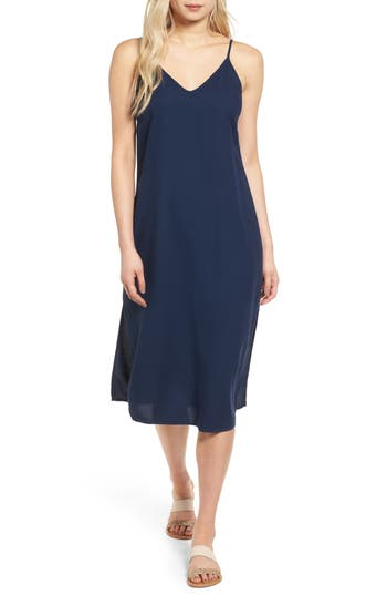 Splendid Tank Midi Dress, Blue