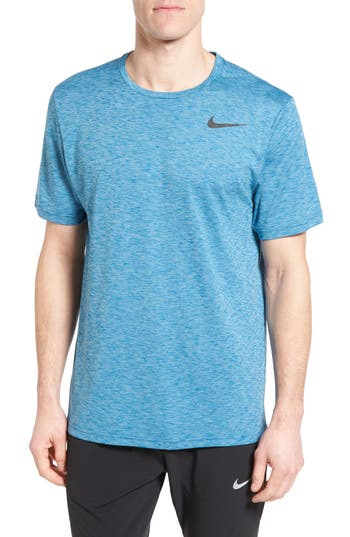 Nike Hyper Dry Training Tee, Blue
