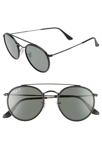 Ray-Ban Icons 51Mm Round Sunglasses -