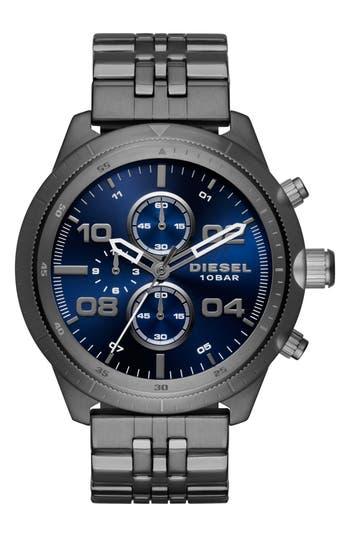 Diesel Padlock Chronograph Bracelet Watch, 50Mm