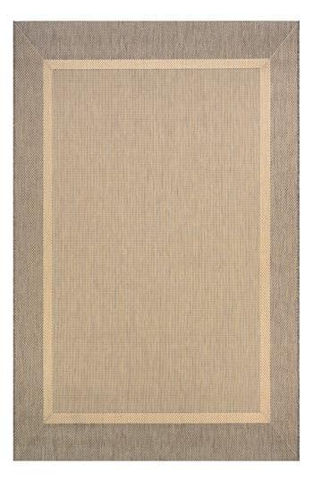 Couristan Stria Texture Indoor/outdoor Rug, ft 0in x 3ft 7in - Beige