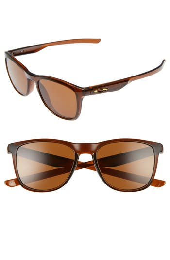Oakley Trillbe X 52Mm Sunglasses - Root Beer/ Dark Bronze