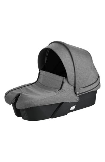 Infant Stokke Xplory Black Frame Stroller Carry Cot Size One Size  Black