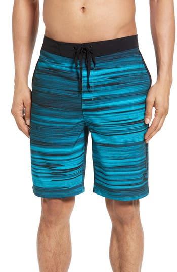 Big & Tall Hurley Phantom Beachside Slider Board Shorts, Blue
