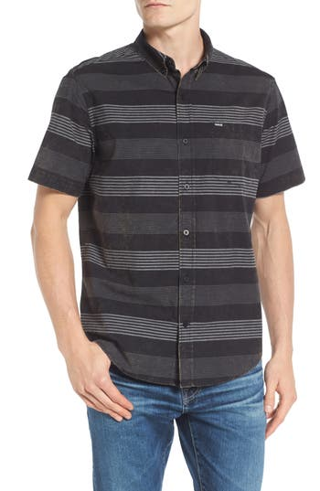 Hurley Stripe Oxford Shirt