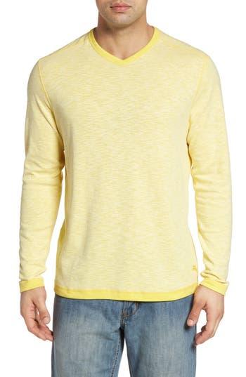 Tommy Bahama Seaglass Reversible T-Shirt, Yellow