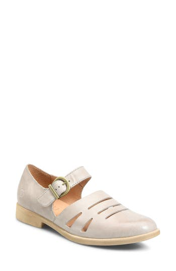 B?rn Jane Mary Jane Flat, Grey