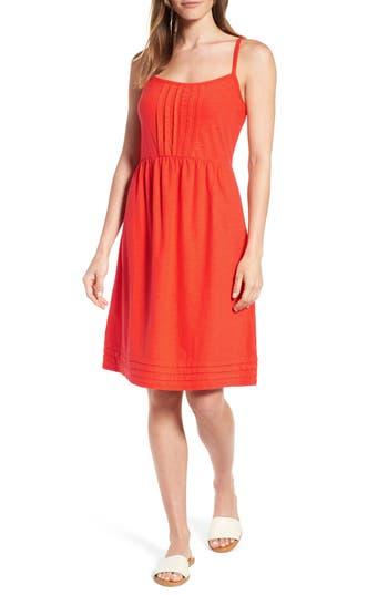 Tommy Bahama Arden Pleat Jersey Sundress, Orange