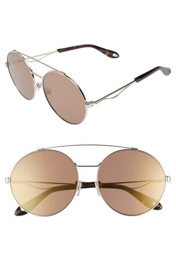 Givenchy 62Mm Oversize Round Sunglasses -