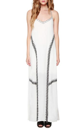Willow & Clay Embroidered Maxi Dress, Ivory