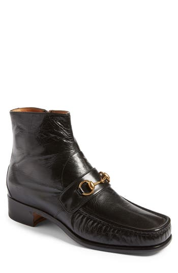 Men's Gucci Vegas Apron Boot