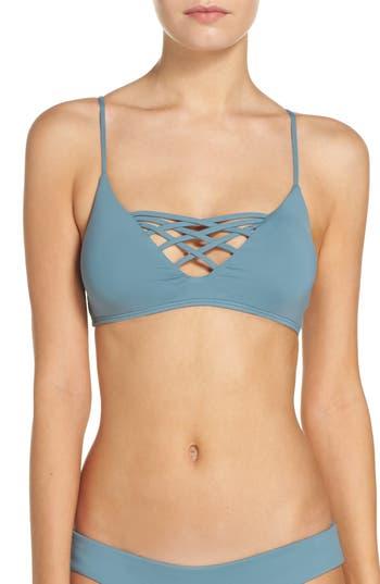 L Space Jaime Bikini Top, Blue