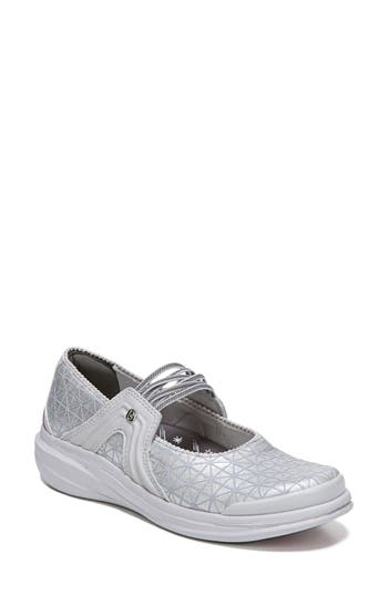 Bzees Candy Mary Jane Sneaker, Grey