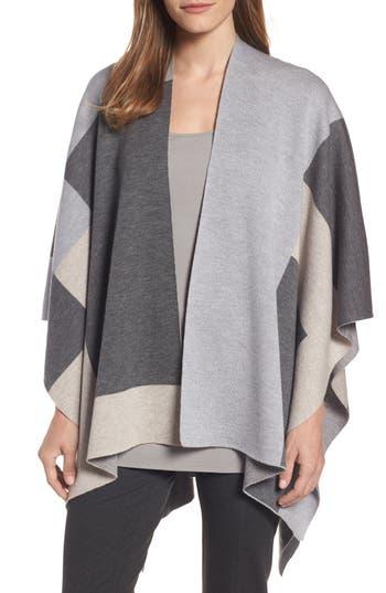 Eileen Fisher Merino Wool Serape Wrap