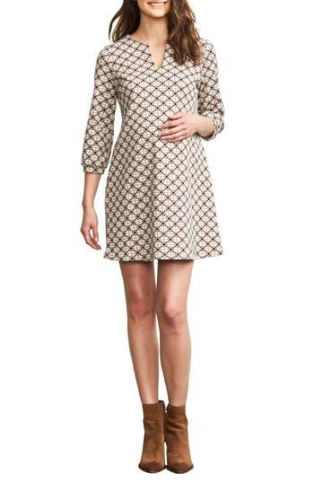 Maternal America 'Vintage Pearls' Maternity Dress