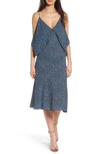 Bailey 44 Bodacious Floral Midi Dress, Blue