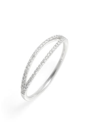 Women's Bony Levy Kiera Two-Row Diamond Stack Ring (Nordstrom Exclusive)