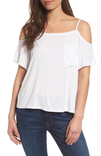Bailey 44 Bail Out Off The Shoulder Top