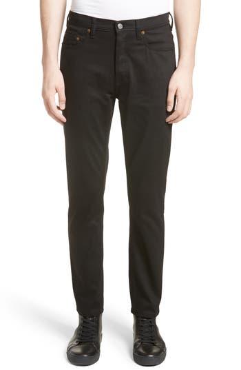 Acne Studios River Slim Taper Jeans, Black
